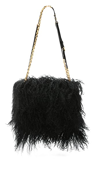 Maiyet Shearling Amonet Bag
