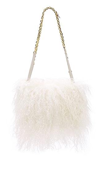 Maiyet Shearling Amonet Bag