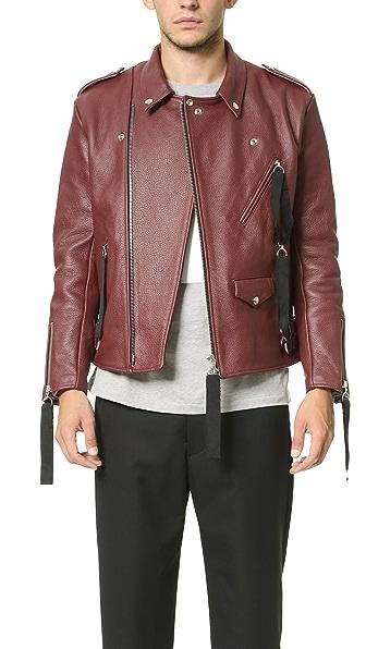 Matthew Miller Tyler Leather Biker Jacket