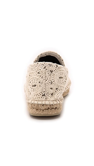 Manebi Paris Cotton Macrame Espadrilles