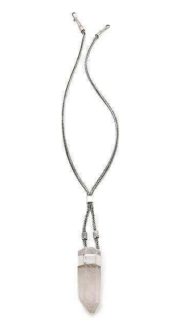 Mania Mania GTO Pendant Necklace