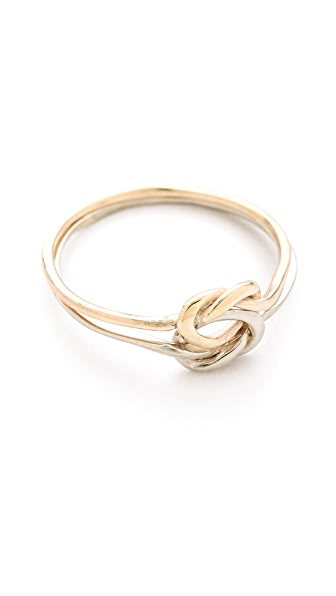 Mara Carrizo Scalise Elba Knot Ring