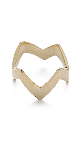 Mara Carrizo Scalise Zigzag Ring