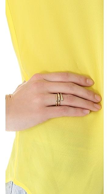 Mara Carrizo Scalise Snake Ring