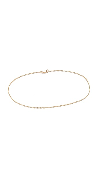 Mara Carrizo Scalise Ball Chain Anklet