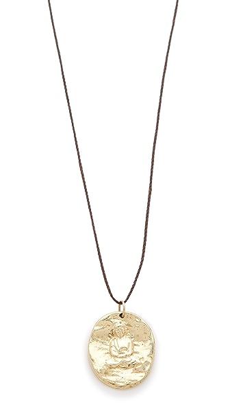 Mara Carrizo Scalise Buddha Necklace