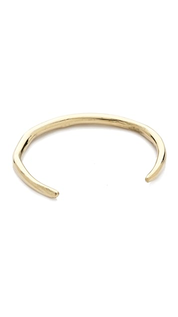 Mara Carrizo Scalise Raw Thin Cuff Bracelet