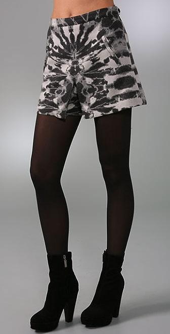 Mara Hoffman Pleat Shorts