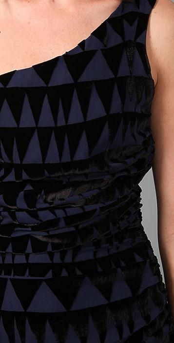 Mara Hoffman One Shoulder Mini Dress