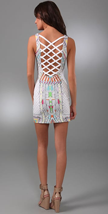 Mara Hoffman Lattice Back Cover Up Dress