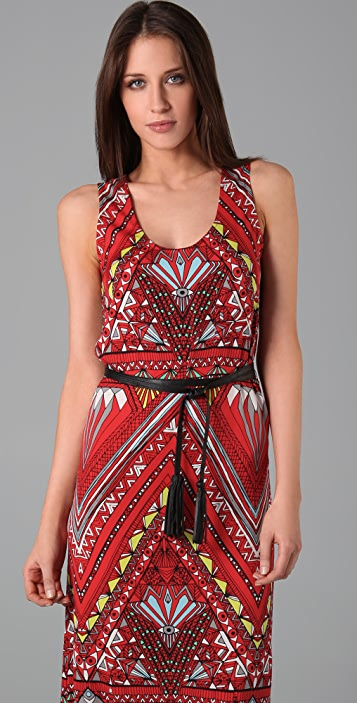 Mara Hoffman Belted Tank Long Dress