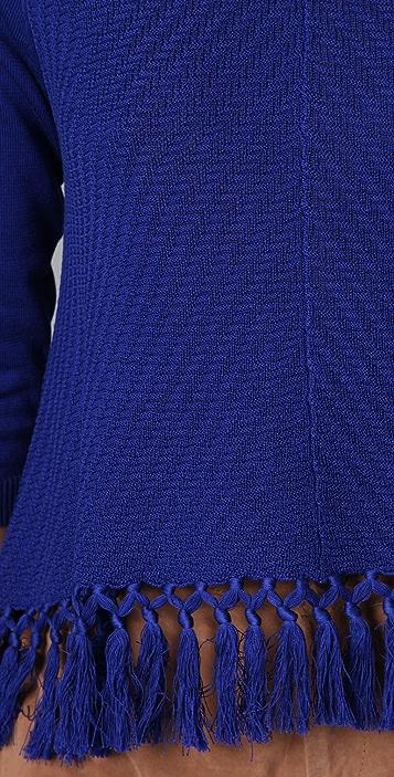 Mara Hoffman Tassel Pullover Sweater