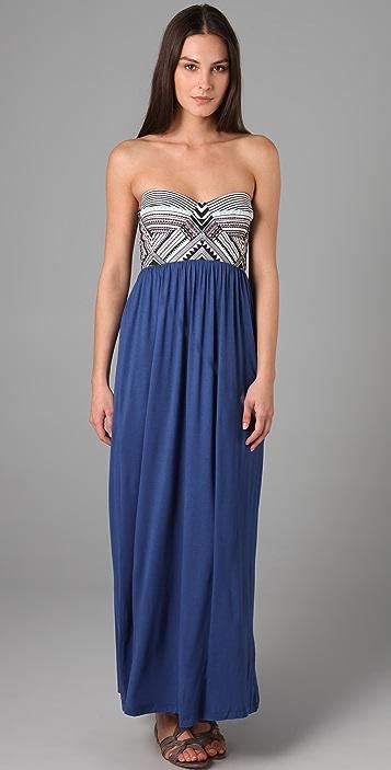 Mara Hoffman Embroidered Bustier Dress