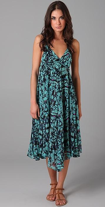 Mara Hoffman Tea Length Float Dress
