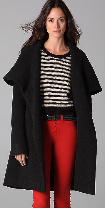Mara Hoffman Shawl Coat