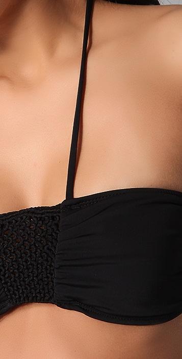 Mara Hoffman Macrame Bikini