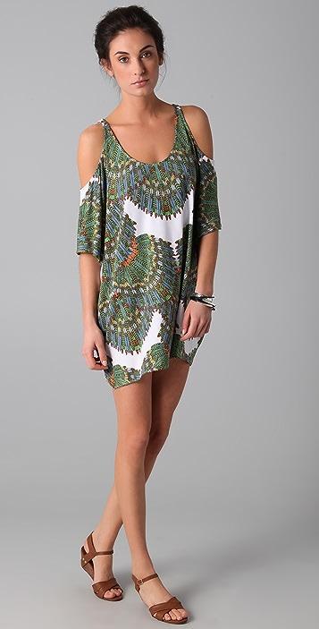 Mara Hoffman Cutout Shoulder Dress
