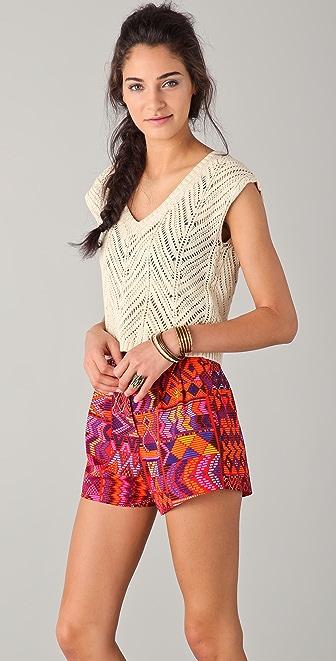 Mara Hoffman Crochet Top