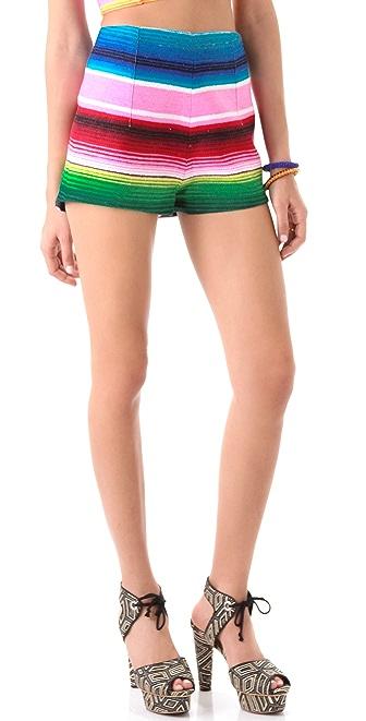 Mara Hoffman Mexican Blanket Shorts