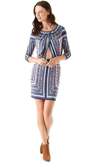 Mara Hoffman Ruched Keyhole Dress