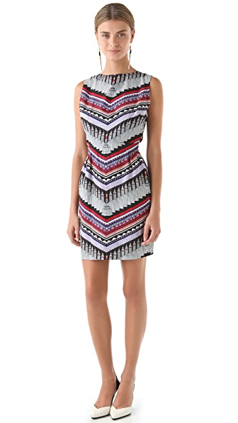Mara Hoffman Open Back Cocktail Dress