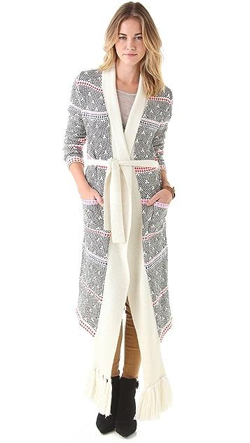 Mara Hoffman Long Scarf Sweater