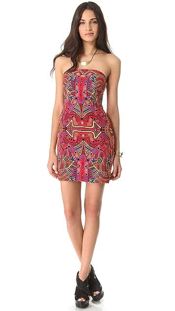Mara Hoffman Strapless Party Dress