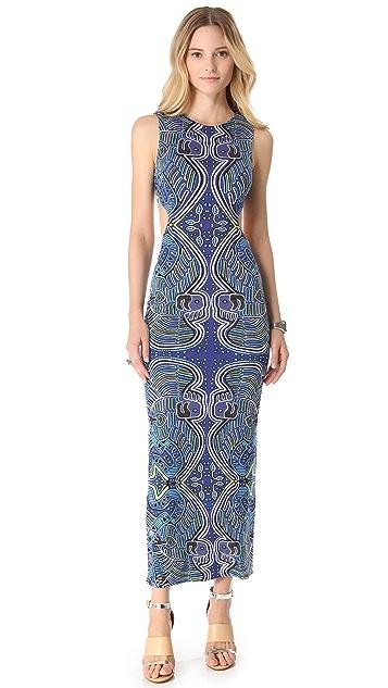 Mara Hoffman Cutout Column Maxi Dress