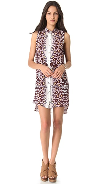 Mara Hoffman Sleeveless Shirtdress