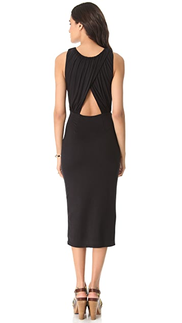 Mara Hoffman Fitted Keyhole Dress