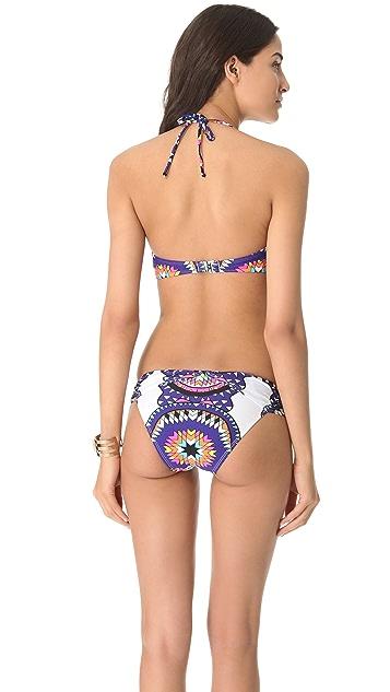 Mara Hoffman Pow Wow Bikini Top