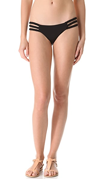 Mara Hoffman Frida Braid Bikini Bottoms