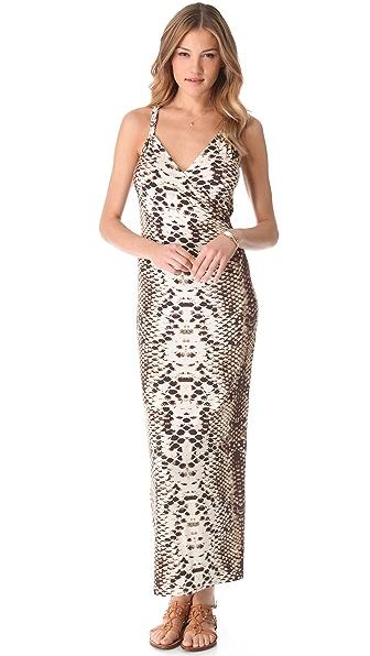 Mara Hoffman Snake Cover Up Maxi Dress