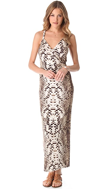 Mara Hoffman Snake Cover Up Maxi Dress
