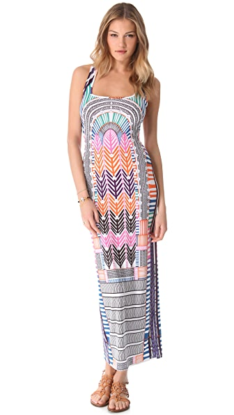 Mara Hoffman Electric Casino Cover Up Maxi Dress