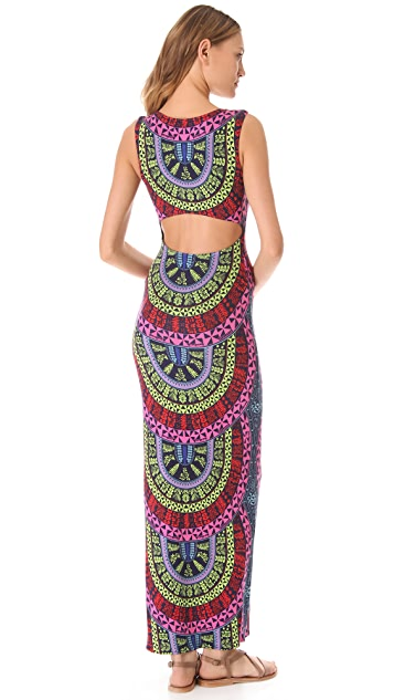 Mara Hoffman Slit Back Column Dress