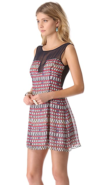 Mara Hoffman Combo Shift Dress