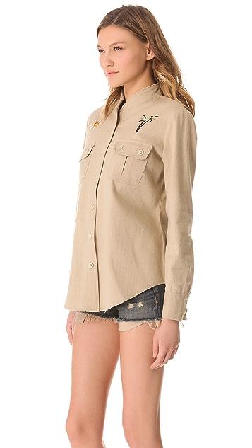 Mara Hoffman Beaded Jacket / Top