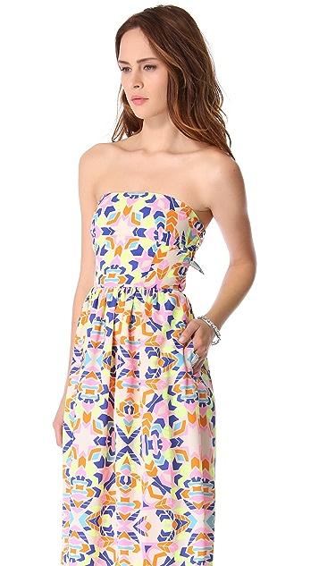 Mara Hoffman Strapless Sun Dress