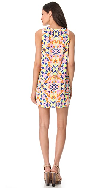 Mara Hoffman Front Pleat Shift Dress