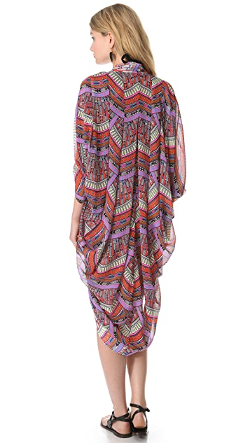 Mara Hoffman Rainbow Cocoon Cover Up