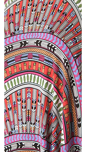 Mara Hoffman Rainbow Mini Cover Up Dress