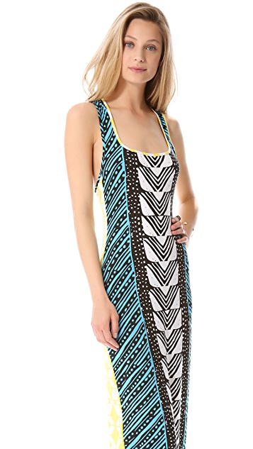 Mara Hoffman Luau Cover Up Dress