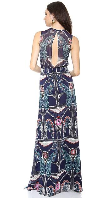 Mara Hoffman Back Keyhole Gown