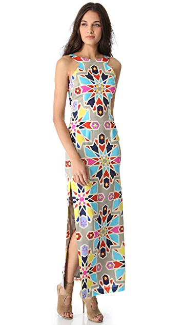Mara Hoffman Open Back Column Dress