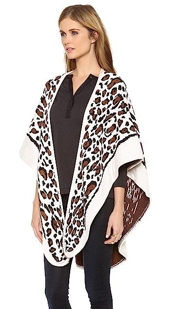 Mara Hoffman Leopard Shawl