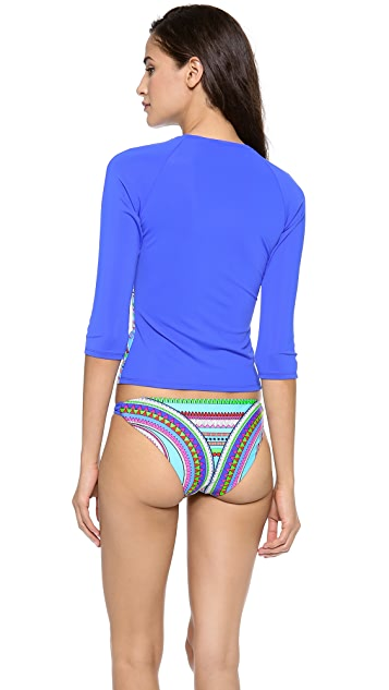 Mara Hoffman Rash Guard Top