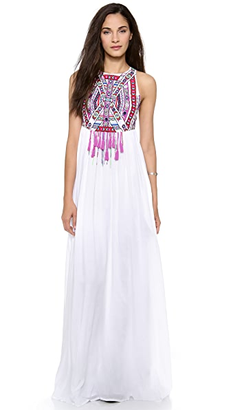 Mara Hoffman Mirror Embroidery Maxi Dress | SHOPBOP