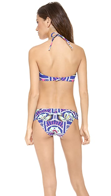 Mara Hoffman Anada V Wire Bandeau Bikini Top
