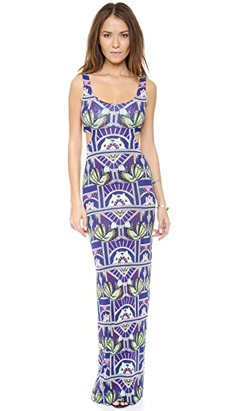 Mara Hoffman Ananda Cut Out Maxi Dress